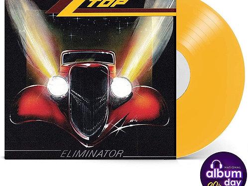 ZZ Top: Eliminator Yellow Vinyl Record