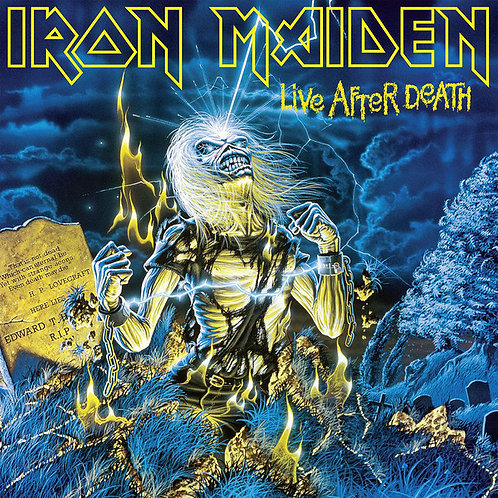Iron Maiden: Live After Death Vinyl Record
