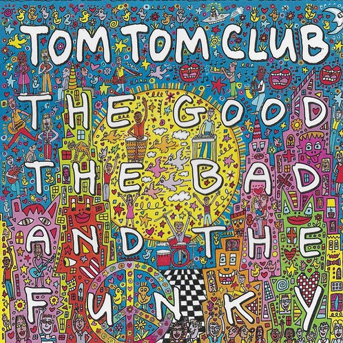 Tom Tom Club: The Good, The Bad and the Funky  coloured Vinyl Record