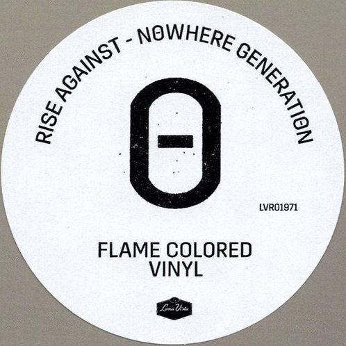 Rise Against: Nowhere Generation Flame Colourwd vinyl