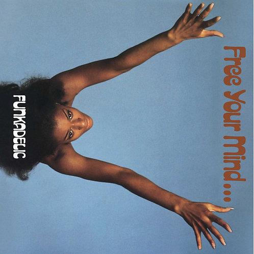 Funkadelic: Feed Your Mind 50th Anniversary Blue Vinyl Record