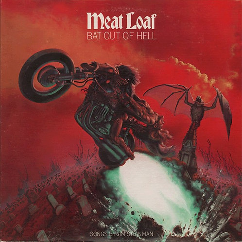 Meat Loaf Bat Out Of Hell front cover