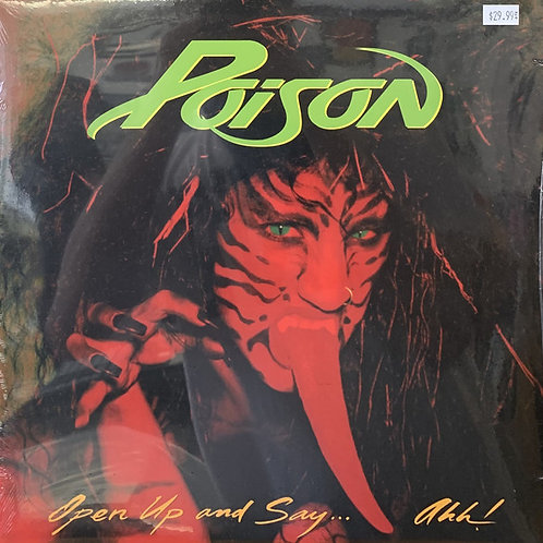 Poison: Look At What The Cat Dragged In Yellow Vinyl Record