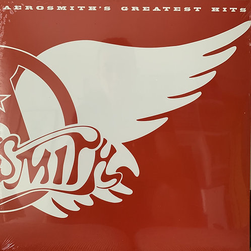Aerosmith Greatest Hits Vinyl Record Front Cover