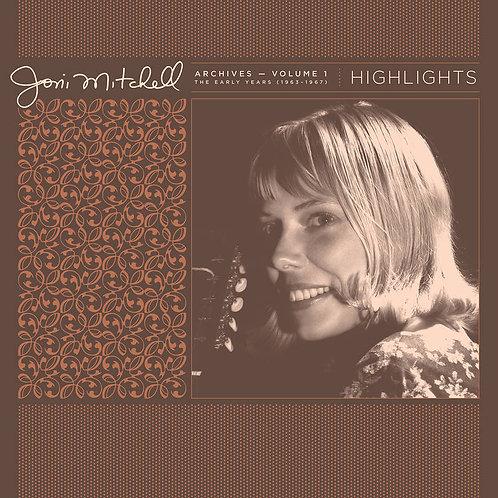 Joni Mitchell Archives, Vol. 1 (1963-1967): Highlights Vinyl Record