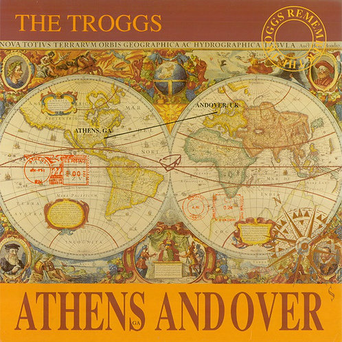 The Troggs Athens Andover Vinyl Record RSD front cover