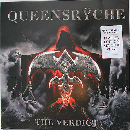 Queensryche: The Verdict Vinyl Record Front cover