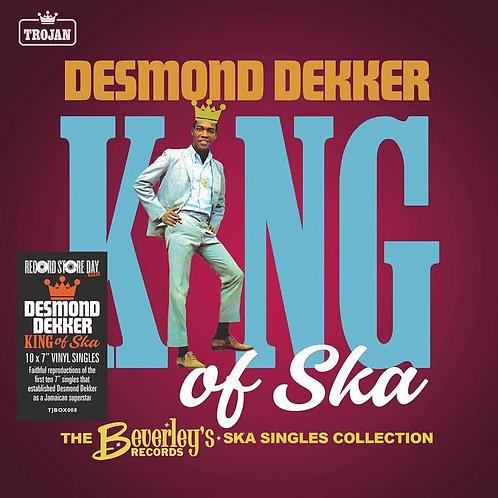 Desmond Dekker: King Of Ska Singles Vinyl Collection