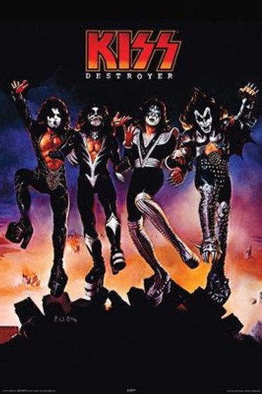 Kiss Destroyer Poster