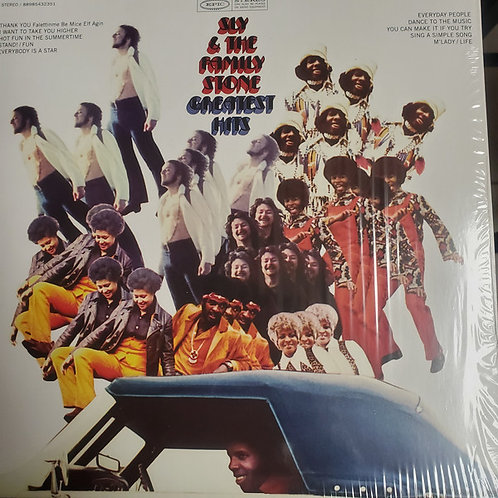 Sly and The Family Stone Greatest Hits Vinyl Record