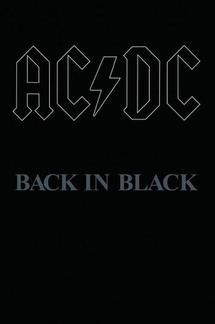 AC/DC Back In Black cassette RSD