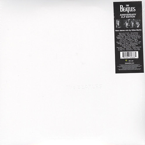 The Beatles  50th Anniversary White album front cover