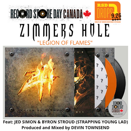 Zimmer's Hole: Legion Of Flames Vinyl Record