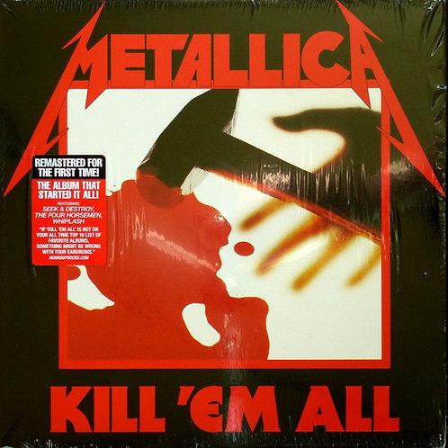 Metallica Kill 'em All Front Cover