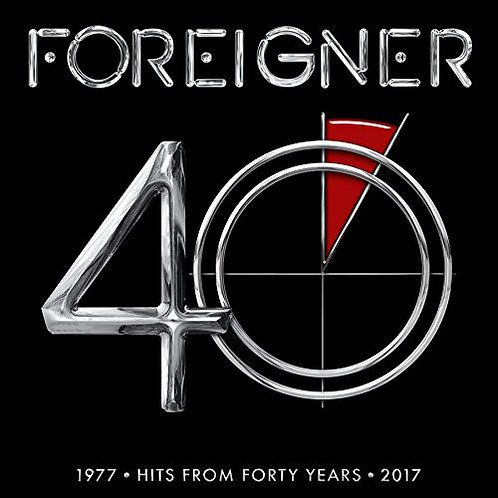 Foreigner 40 Hits From Forty Years Vinyl Record