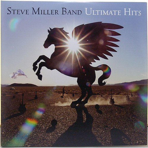 Steve Miller Ultimate hits vinyl record front cover