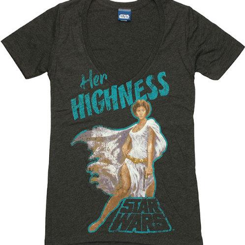 Star Wars:Her Highness Junior Ladies T-Shirt