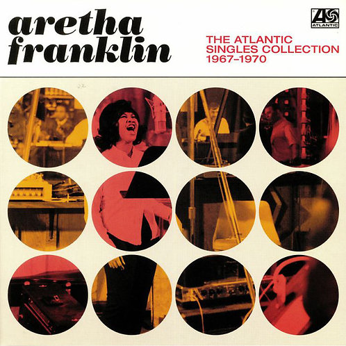 Aretha Franklin The Atlantic Singles 1967-70 front cover