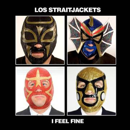 "Los Straitjackets I Feel Fine 7"" Stones Vs. Beatles RSD BF"