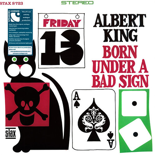 Albert King ‎– Born Under A Bad Sign