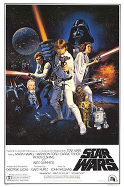 Star Wars: A New Hope Movie Poster