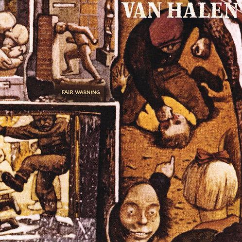 Van Halen: Fair Warning Vinyl Record
