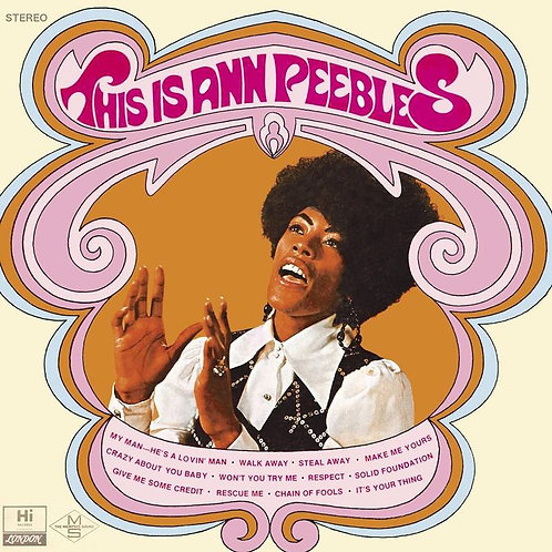 Ann Peebles: This is Ann Peebles Vinyl Record