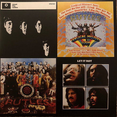 """The Rutles – The Rutles 40th Anniversary Edition Vinyl Record w/7"""""""