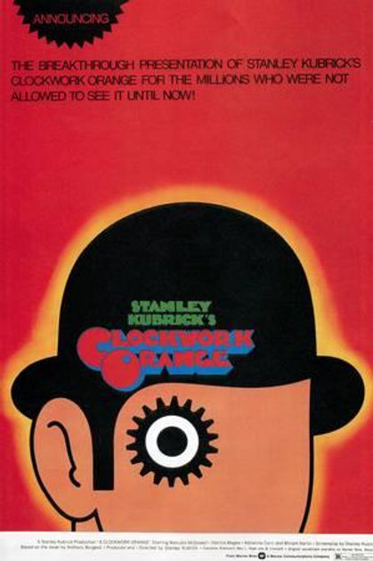 Stanley Kubrick's Clockwork Orange Poster (eye)