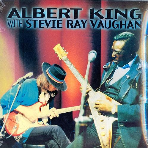 Albert King w/ Stevie Ray Vaughan Vinyl Record