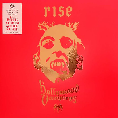 Hollywood Vampires: Rise Vinyl Record Front Cover