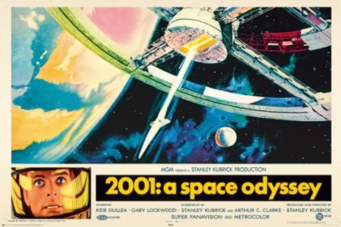 2001 A Space Oddysey Movie Poster