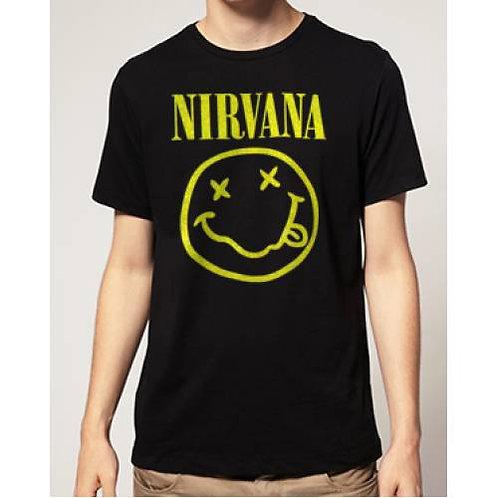 Nirvana Smiley Face T-Shirt