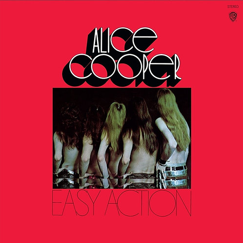 Alice Cooper: Easy Action Gold Vinyl Record
