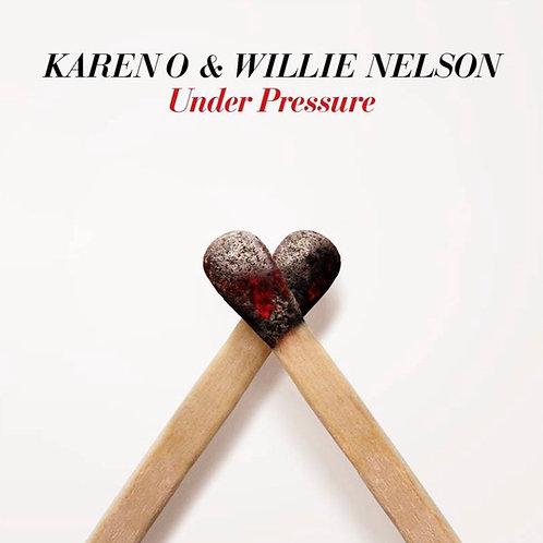 """Karen O & Willie Nelson: Under Pressure 7"""""""