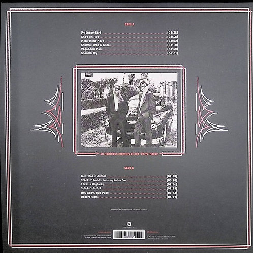 Billy Gibbons: Hardware Black Vinyl Record