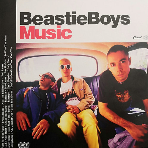 Beastie Boys: Music Double Vinyl Record