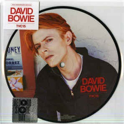 """David Bowie: TVC 15/ Wild Is The Wind 7"""" 45 Picture disc"""