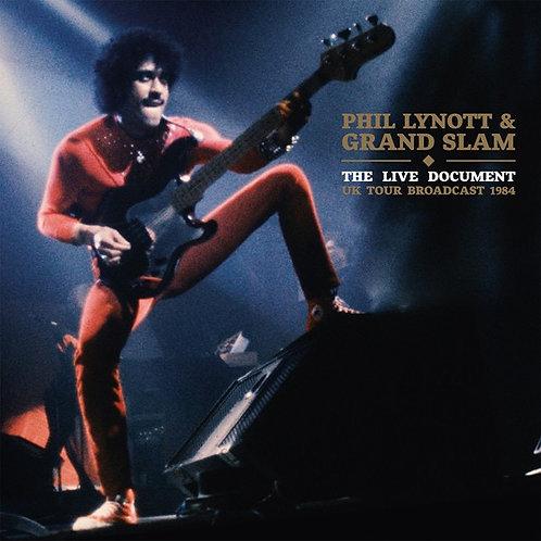 Phil Lynott & Grand Slam: The Live Document UK Tour Broadcast 1984 Vinyl Record