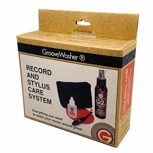 Groove Washer Record Cleaning System