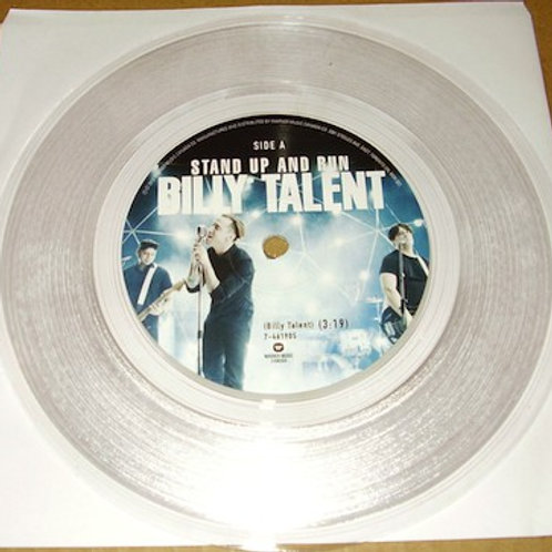 """Billy Talent: Stand Up and Run/ Sudden Movements 7"""" 45 RPM"""