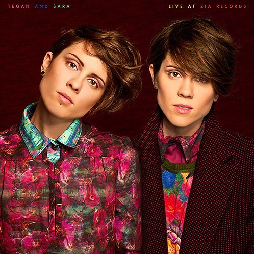 "Tegan and Sara Live At Zia Records 12"" Vinyl Record"