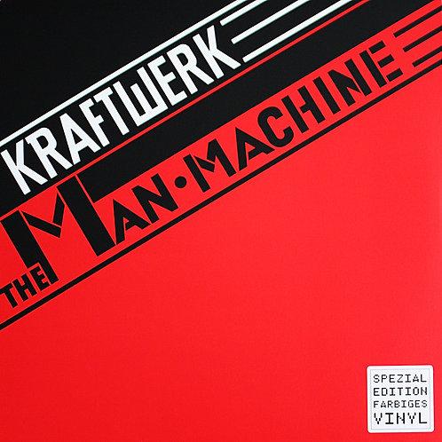 Kraftwerk: The Man Machine Red Vinyl Rocktober Record