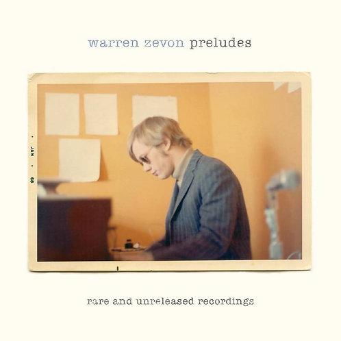 WARREN ZEVON: Preludes Vinyl Record (Sky Blue)