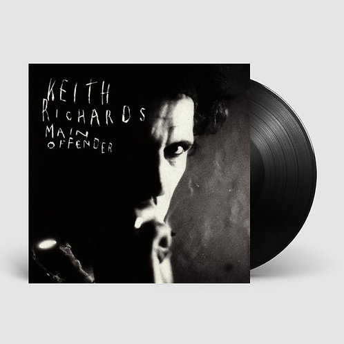 Keith Richards Main Offender Vinyl Record