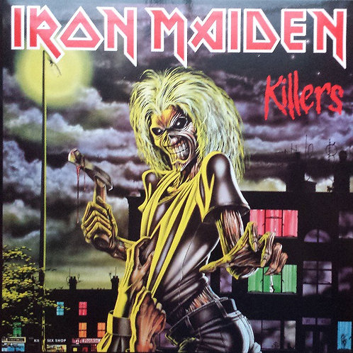 Iron Maiden: Killers Vinyl Record