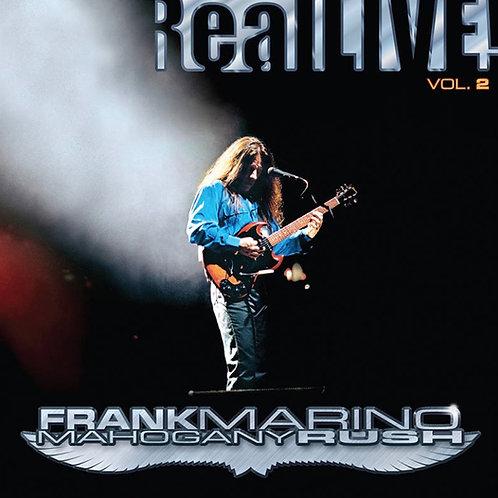 Frank Marino Mahogany Rush Vol.2 Vinyl Record