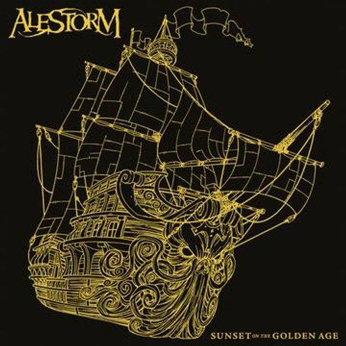 Alestorm Sunset On The Golden Age (DLX Version)Vinyl Record