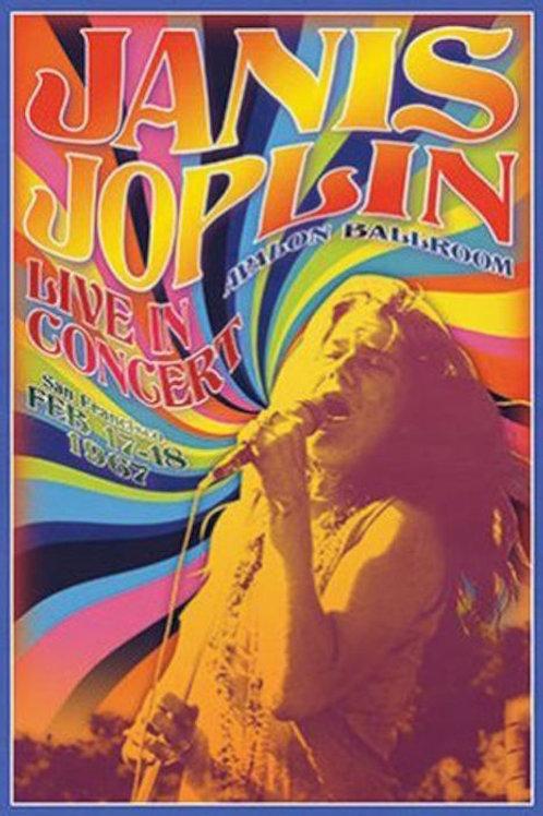 Joplin, Janis: Live In Concert Poster
