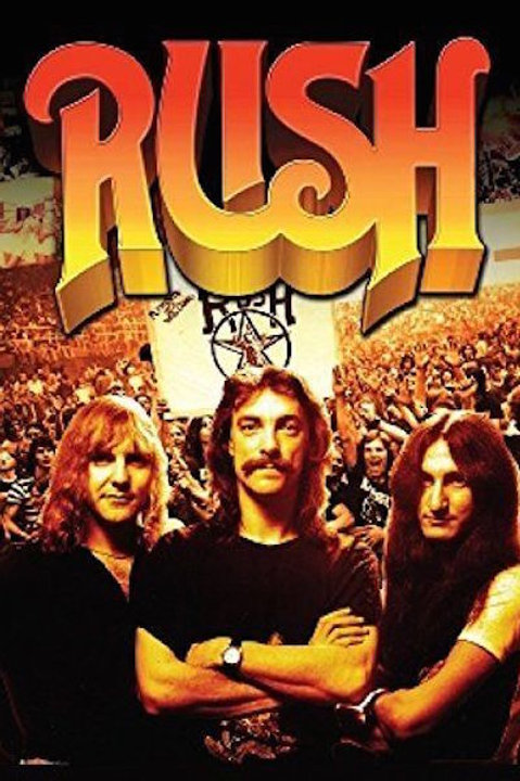 Rush  Beyond The Lighted Stage Poster